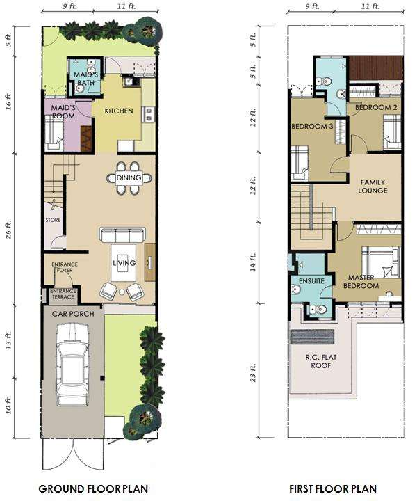 A1 (1,685 sq.ft)