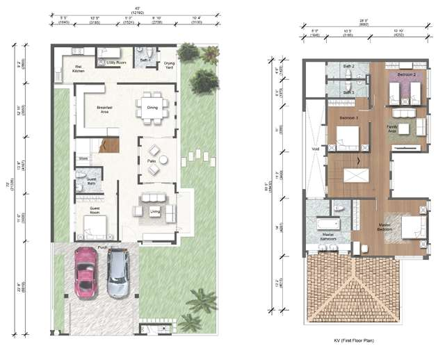 Plan Rumah Semi D http://www.iproperty.com.my/developments/1322/The_Park_Link_Villas_@_Precinct_3