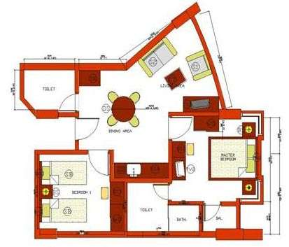 Type A - 2 Bedroom