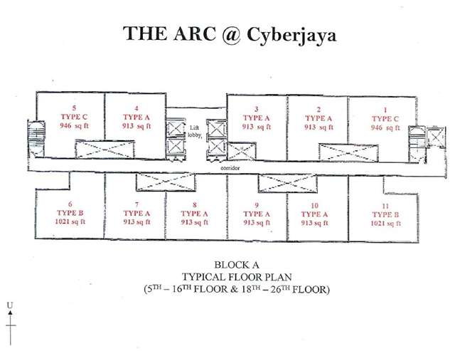 Block A Floor Plan