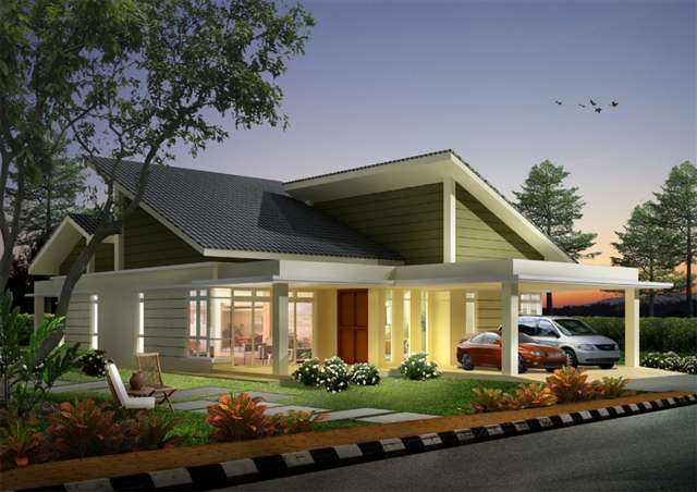 House plans and design contemporary house designs and floor plans malaysia Home architecture malaysia