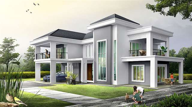 House design malaysia on modern bungalow house design malaysia