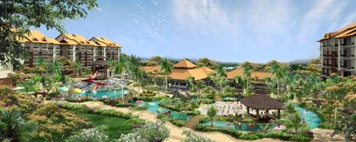 Tropical Themed Private Water Park