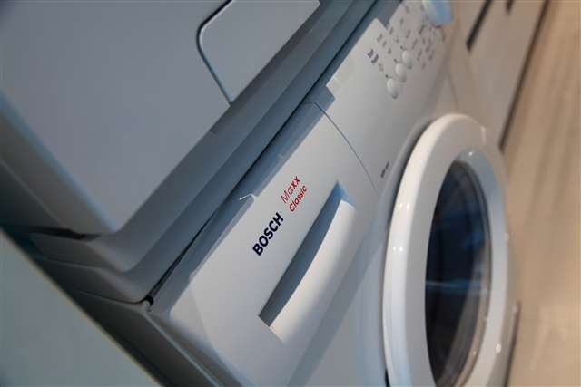 Bosch clothes dryer & washing machine