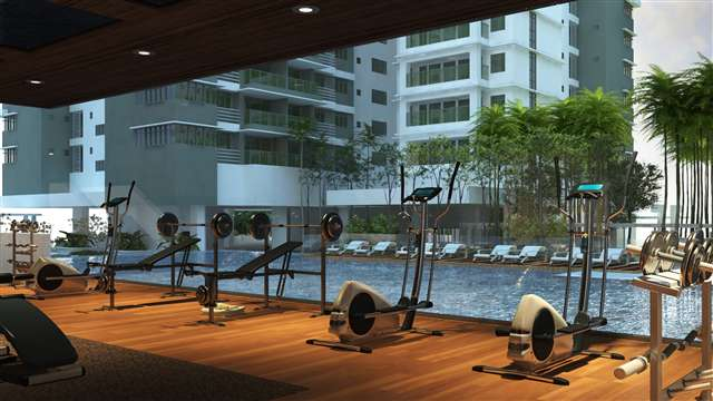 A Glass Walled Gymnasium Enhances the Exclusivity