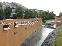Lake Edge Puchong, Court Yard, Puchong