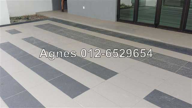 2 sty terrace link house for sale in setia alam for rm for Modern car porch tiles design