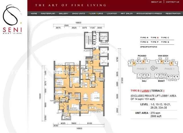 Condominium For Sale In Seni Mont Kiara Mont Kiara For Rm