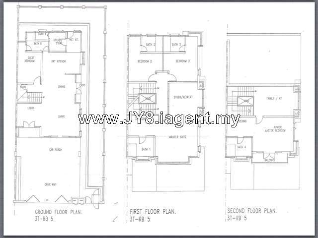 Semi Detached House For Sale In Areca Residences Kepong