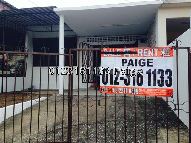 1 Sty Terrace Link House For Rent In Old Klang Road For Rm 1 100 By Paige Wong Up2582326