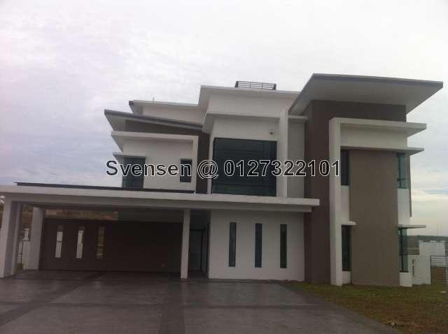 Bungalow House For Sale In Cahaya Spk Lake Garden Villas