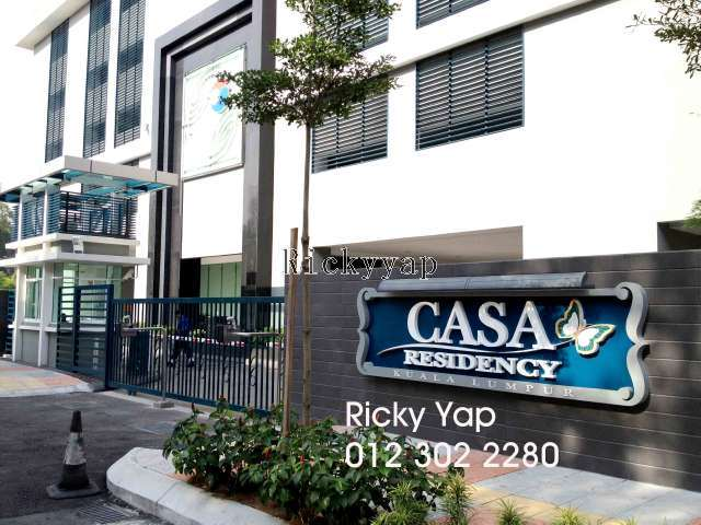 Condominium for rent in casa residency bukit bintang kl for Casa residency for rent