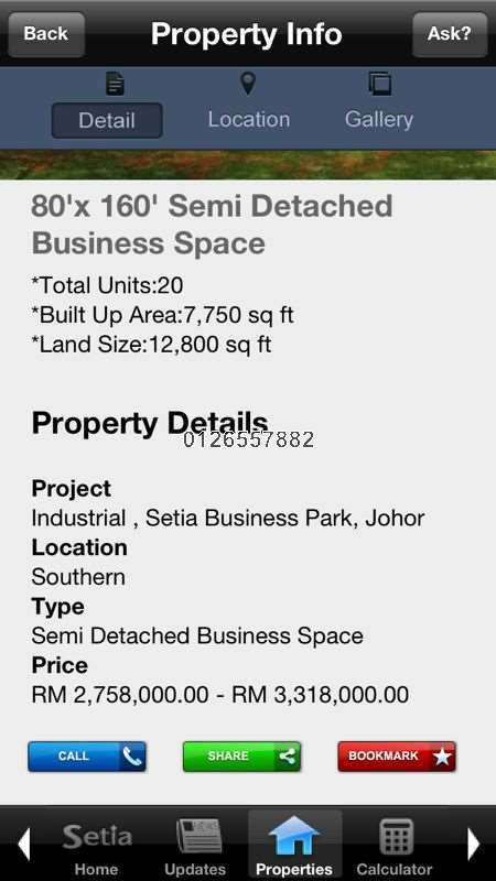 Factory For Sale In Setia Business Park Gelang Patah