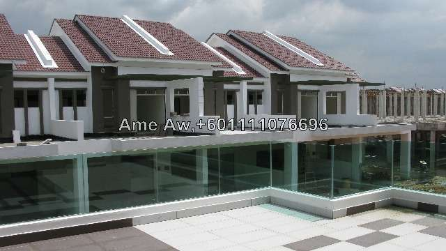 2 sty terrace link house for sale in royale nova 2st type for Whats a terrace house