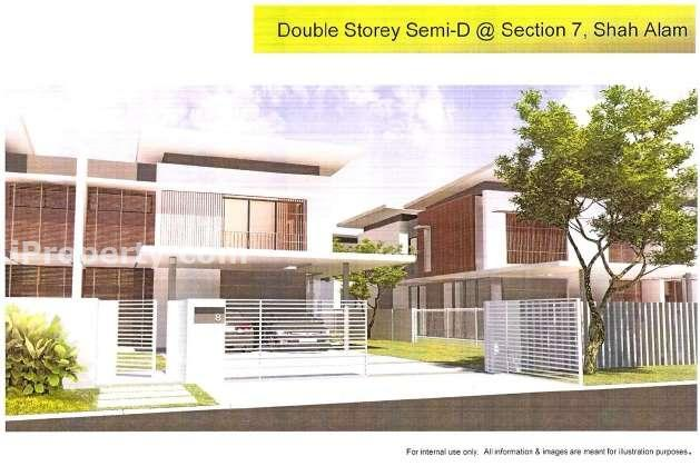 Semi Detached House For Sale In Garden Villas Section 7