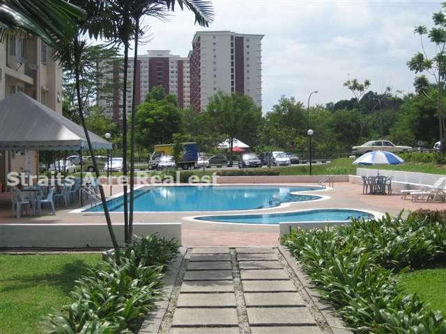 pool located behind blok B