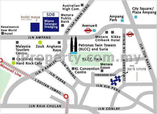 Office For Rent In Wisma Selangor Dredging Klcc For Rm