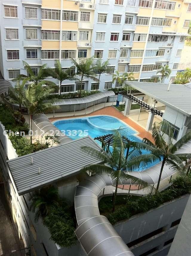 apartment for sale in taman bukit pelangi shah alam for