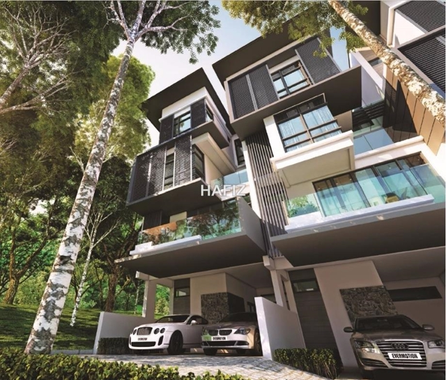 4-sty Terrace/Link House For Sale In Taman Tun Dr Ismail