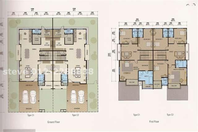 Semi detached house plans malaysia - Creative home with beautiful panorama to provide total comfort living ...