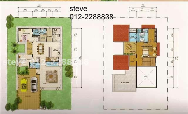 Bungalow House For Sale In Setia Eco Park RM 2400000