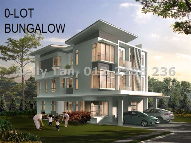 Zero Lot Bungalow For Sale In Tropicana Cheras Sungai