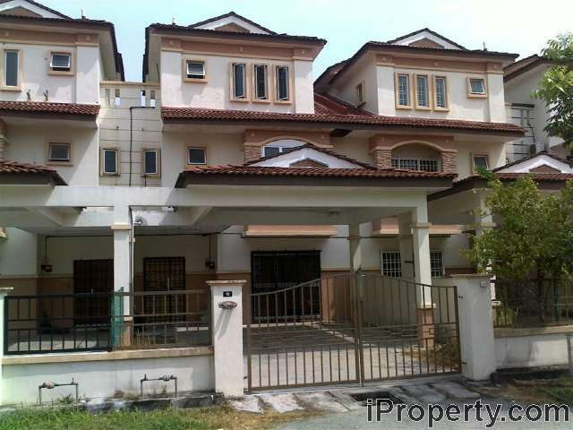 2 5 sty terrace link house for rent in taman sutera prima for Terrace 9 suvarna sutera