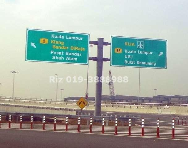 LKSA Highway opened to Shah Alam City