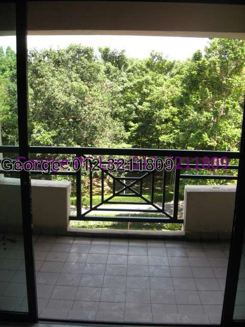 Balcony and greenery