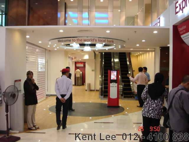 Menara Genesis,Ground Floor~HSBC banking hall