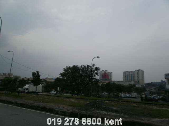 just opposite the Jaya Jusco
