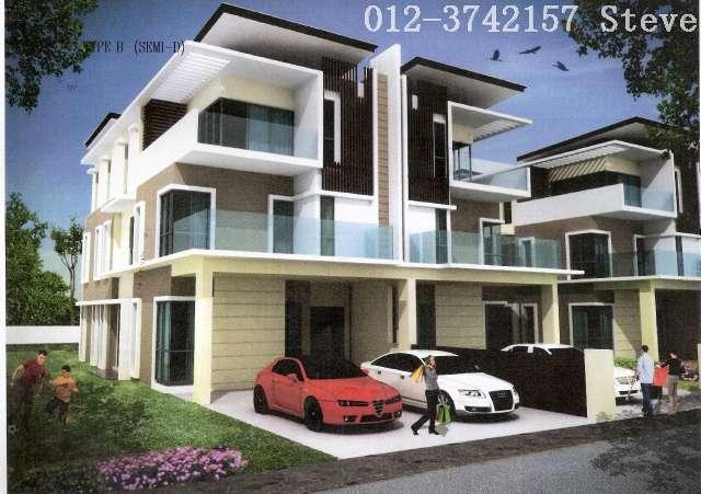Taman Bukit Serdang Section 10 Semi Detached House For