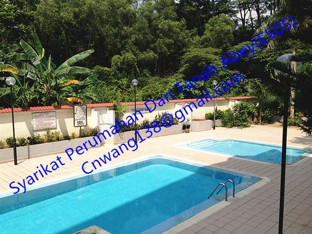 Apartment for rent in indera putra courts johor bahru for rm 2 400 by c n wang up2449263 Public swimming pool in johor bahru