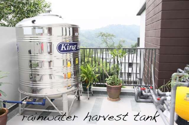 Rainwater harvest system..