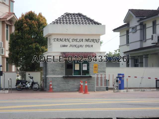 Sungai dua 2 5 sty terrace link house for sale penang for 7 terrace penang
