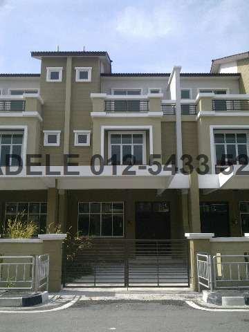 Sungai dua 3 sty terrace link house for sale penang for Terrace 9 classic penang