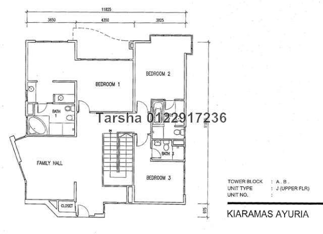 Duplex For Sale In Kiaramas Ayuria Mont Kiara For Rm