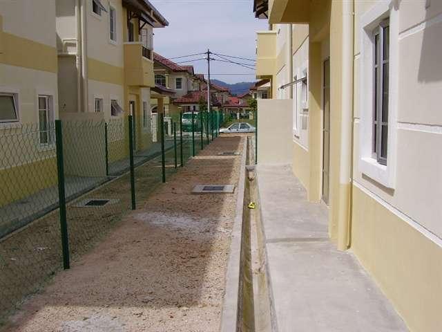 corner area