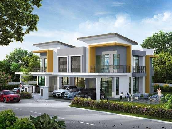 Modern bungalow design malaysia joy studio design for Homeplans com reviews