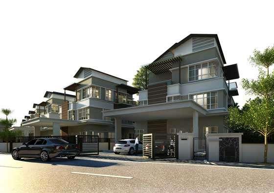 New Semi-detached House for Sale at Avenue 4 ( Bungalow & Semi-D ...