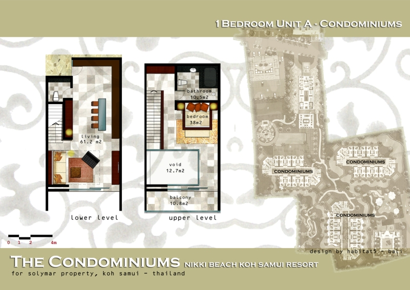 1 Bedroom Unit A