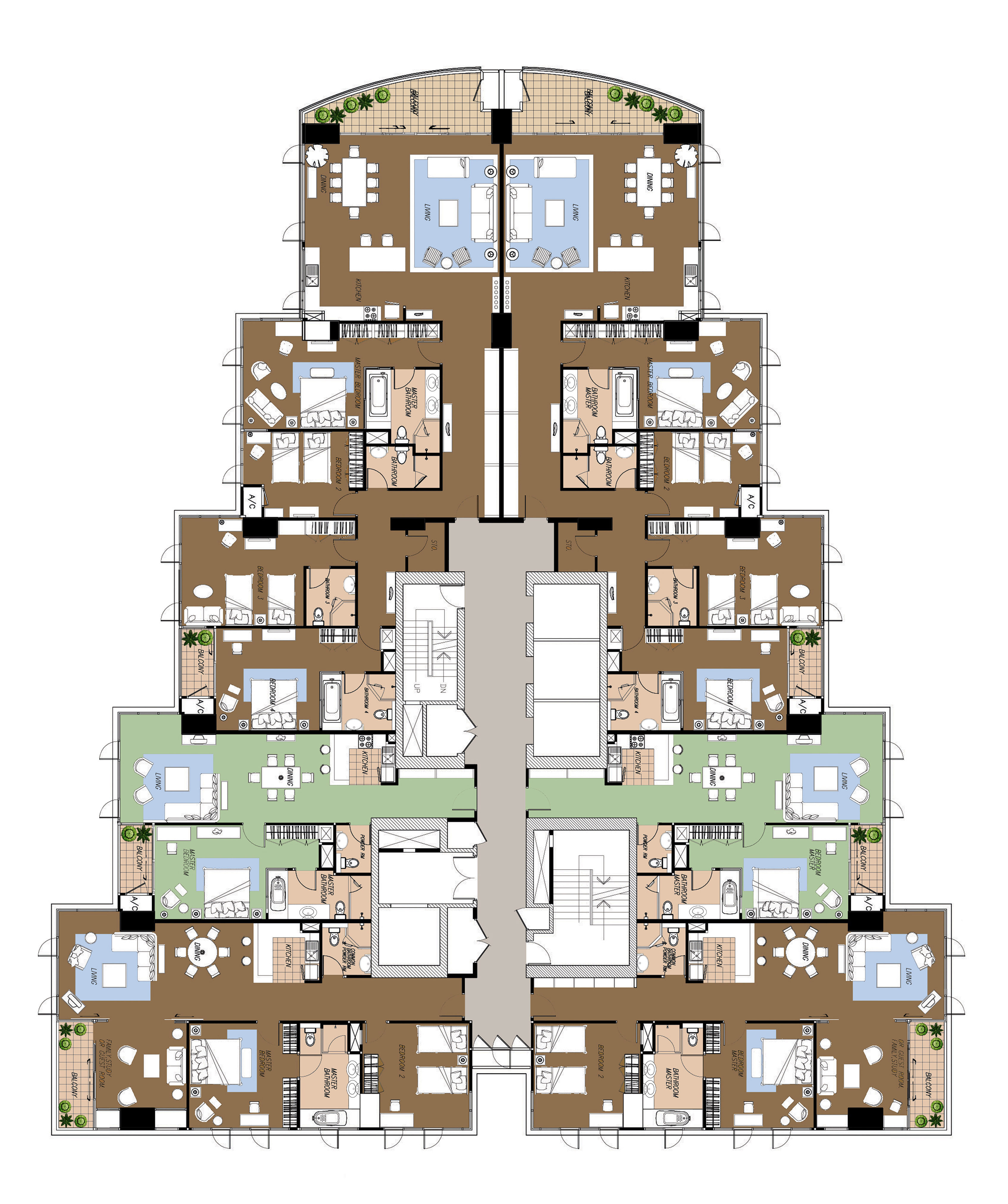 37th Floor Plan